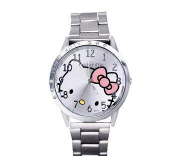 นาฬิกาลายการ์ตูนเด็กผู้หญิงนาฬิกานาฬิกานาฬิกาสเตนเลสเพชรพลอยเทียม ๆ-ระหว่างประเทศ