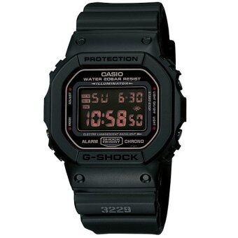 Casio G-shock นาฬิกาข้อมือสุภาพบุรุษ Black Resin Strap รุ่น DW-5600MS-1DR