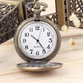 นาฬิกาสร้อยคอสายโซ่หน้าจอแบบอะนาล็อคแฟชั่นสำหรับสตรี 1 เส้น