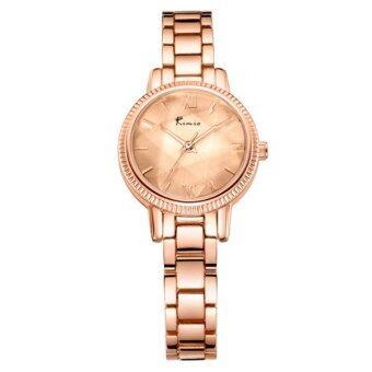 Kimio นาฬิกาข้อมือผู้หญิง สายสแตนเลส สีโรสด์โกล์ด รุ่น KW6139