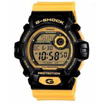 Casio นาฬิกาข้อมือ G-Shock G-8900SC-1YCR (สีเหลืองดำ)