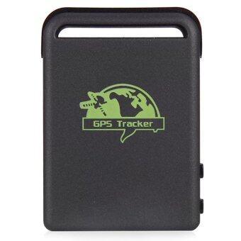 ข้อมูลจำเพาะของ TK102B GPS tracker Mini GPS/GSM/GPRS Car Vehicle Tracker Realtime Tracking Device Person Track Device(Black)
