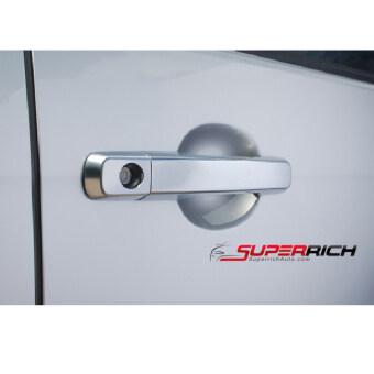 TFP ครอบมือเปิดประตู กันรอยประตู โครเมี่ยม (Door handle) / D-MAX 2012 (4 dr.)