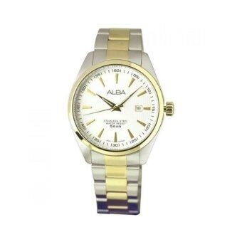 ALBA นาฬิกาผู้ชาย Smart gent สายสแตนเลส รุ่น AG8390X1 สองกษัตริย์