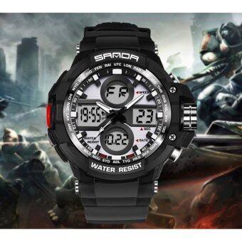 Sevenlight นาฬิกาข้อมือผู้หญิง ร่น GP9217 (Black/Silver)