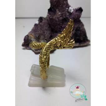 hindd แหวนพญานาคราช เนื้อทองเหลืองตัวเรือน