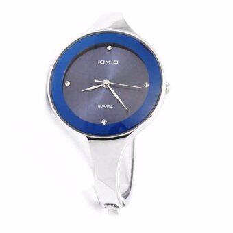 Kimio นาฬิกาข้อมือผู้หญิง สายแสตนเลส สีน้ำเงิน รุ่น K2682L (Dark blue)