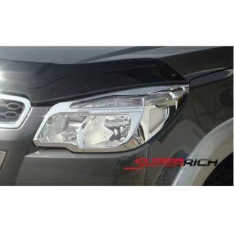 SA ครอบไฟหน้าโครเมี่ยม (Head Lamp Cover) / Chevrolet Colorado 2012