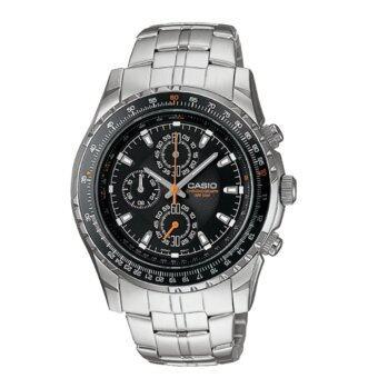 Casio MTP-4500D-1A นาฬิกาข้อมือสำหรับผู้ชาย สาย Stainless