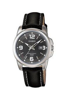 Casio Standard นาฬิกาข้อมือสุภาพสตรี สายหนัง รุ่น LTP-1314L-8AVDF - Black
