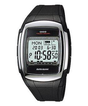 Casio Standard Solar Power นาฬิกาข้อมือ สายเรซิ่น รุ่น DB-E30-1AVDF - Black
