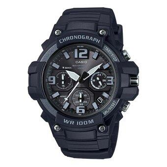 Casio Standard นาฬิกาข้อมือผู้ชาย สายเรซิ่น รุ่น MCW-100H-1A3