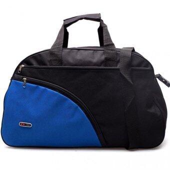 DM กระเป๋าเดินทาง Curve -- สีดำน้ำเงิน