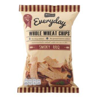 WHOLE WHEAT CHIPS 30g SMOKY BBQ 1 BOX = 12 PACKS (image 1)
