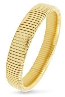 555jewelry กำไลข้อมือสำหรับสุภาพสตรี รุ่น MNC-BG045-B-S (สี Yellow Gold)