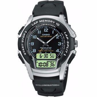 CASIO นาฬิกาข้อมือผู้ชาย Men sport gear watch รุ่น WS-300-1B