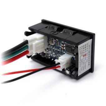 จอแสดงผลคู่สีแดงแผง Led ดีซี 4.5.., 30โวลต์แอมมิเตอร์โวลต์มิเตอร์ดิจิตอล 1 Amp