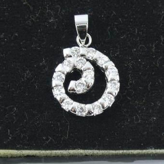 Pearl Jewelry จี้สร้อยเกลียวสมุทร พลอย CZ