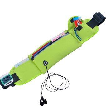 TravelGear24 กระเป๋าคาดเอว Sport Waist Bag (Green/สีเขียว)