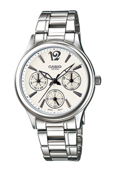 Casio Standard นาฬิกาข้อมือผู้หญิง สายสเตนเลส รุ่น LTP-2085D-7A