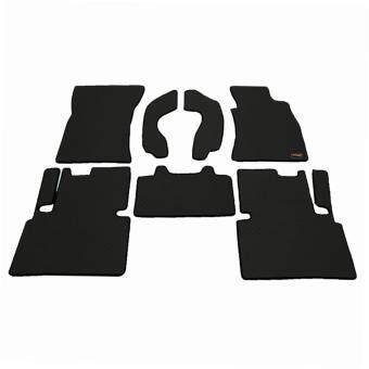 Matpro พรมปูพื้นเข้ารูป 100% ลายกระดุม ชุด Standard Set 7 ชิ้น รุ่น TOYOTA VIGO CAB 2013 (Black)