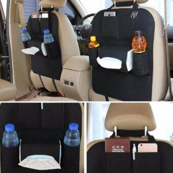 iBettalet ที่ใส่ของในรถเอนกประสงค์ กระเป๋าใส่สัมภาระอเนกประสงค์ด้านหลังเบาะ สีดำ