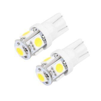 LED หลอด LED ไฟหรี่ T10 แสงสีขาว 1 คู่ WHITE ) 84-racing