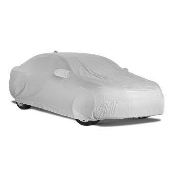 CAR ผ้าคลุมรถ FAST-X คุณภาพดี เกรดส่งออก สำหรับรถเก๋งขนาดกลาง Size M