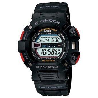 Casio g-shock นาฬิกาคาสิโอ Master of G Mudman G-9000-1 (Black)