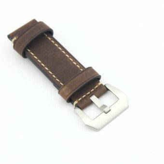 eMylo สายหนัง สำหรับเปลี่ยนนาฬิกาข้อมือ ขนาด 20mm (สีน้ำตาล)