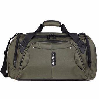 Aspensport กระเป๋าสะพายไหล่ สำหรับฟิตเนส ขนาด 45L รุ่น AS-11 – GREEN