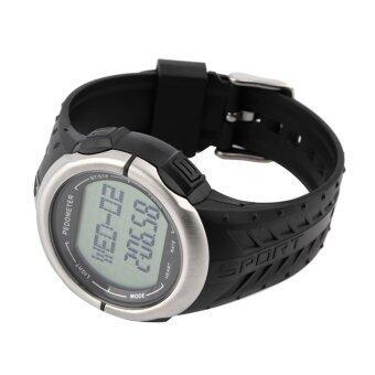 โอ้ 3D นาฬิกาตัววัดอัตราการเต้นของหัวใจเครื่องวัดระยะทางเดินออกกำลังกายกีฬานาฬิกานับแคลอรี่