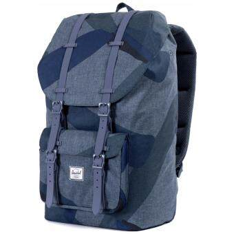 Herschel Little America Backpack - Navy Portal/Navy Rubber