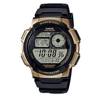 Casio Standard นาฬิกาข้อมือผู้ชาย สายเรซิ่น รุ่น AE-1000W-1A3VDF