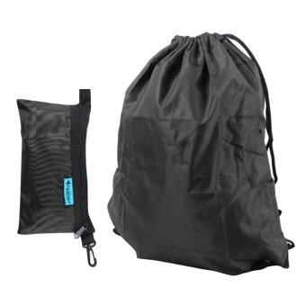 Allwin 420D เก็บเสื้อผ้าผ้ารองเท้าออกซ์ฟอร์ด และอำนวยความสะดวกการเดินทางกระเป๋าหูรูดกระเป๋าสีดำ