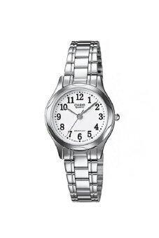 Casio Standard นาฬิกาข้อมือผู้หญิง สายสแตนเลส รุ่น LTP-1275D-7BDF - สีเงิน/ขาว