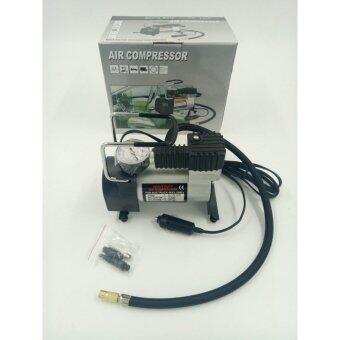 ปั้มลม ปั๊มลมไฟฟ้า พลังสูงแบบพกพา 100 psi max 140 psi 12V