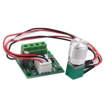 Harga PWM DC 1.8V 3V 5V 6V 12V 2A Adjustable Motor Speed Controller