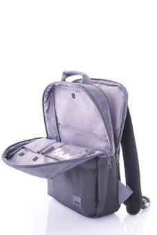 AMERICAN TOURISTER กระเป๋าเป้ใส่โน๊ตบุค รุ่น BRIXTON สี GREY/BLACK (image 2)