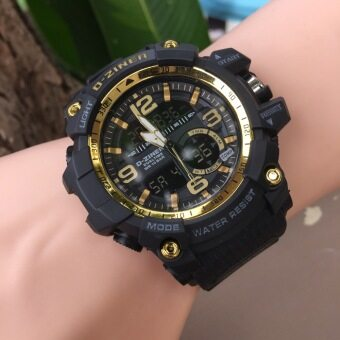 D-ZINER นาฬิกาข้อมือ รุ่น DZ8143 สีทอง