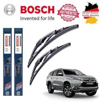 ใบปัดน้ำฝน Bosch Advantage ขนาด 19 นิ้ว และ 21 นิ้ว สำหรับ Mitsubishi Pajero Year 00-