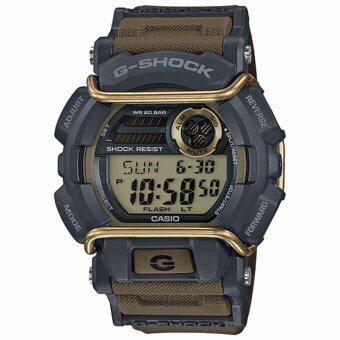Casio G-shock นาฬิกาผู้ชาย สายเรซิ่น รุ่น GD-400-9 - สีเขียว/ทอง
