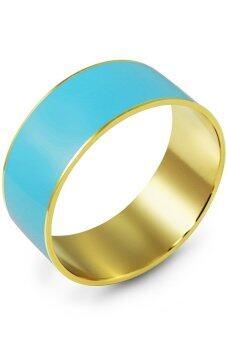 555jewelry กำไลสำหรับสุภาพบุรุษและสุภาพสตรี รุ่น FSBG79 (สี Yellow Gold)