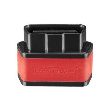 Fancytoy 1ชิ้น KW903 ELM327 รถบลูทูธ OBD2 OBDII ออโต้อินเตอร์เฟซการวินิจฉัยข้อบกพร่อง (สีดำ & สีแดง)
