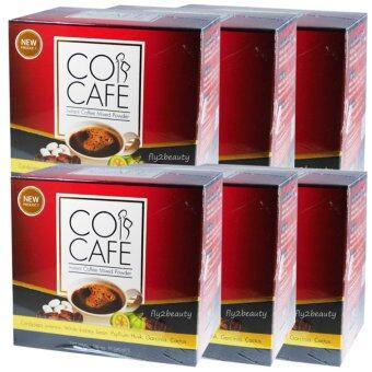 Cor Cafe คอ คาเฟ่ กาแฟปรุงสำเร็จ ควบคุมน้ำหนัก แค่ชงแล้วดื่ม หุ่นสวย ผิวใส ไร้ส่วนเกิน ขนาด 10 ซอง (6 กล่อง)