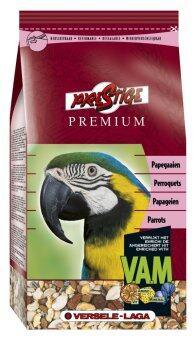 Versele-Laga เพรสทีจพรีเมี่ยม อาหารนก มาคอว์ นกปากขอใหญ่ นกแก้ว Prestige Premium Parrots Bird Food, 1 Kg.