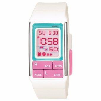 นาฬิกาข้อมือสำหรับผู้หญิง Casio Poptone รุ่น LDF- 51- 7CDR (White)