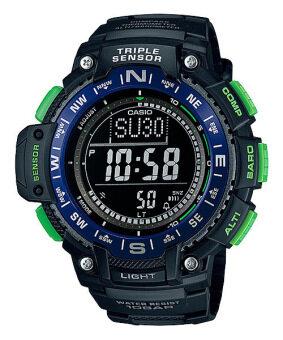 Casio Outgear นาฬิกาข้อมือชาย สีดำ สายเรซิ่น SGW-1000-2B