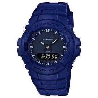Casio G-Shock นาฬิกาข้อมือผู้ชาย สายเรซิ่น รุ่น G-100CU-2
