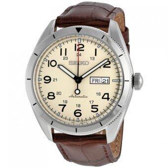 Seiko นาฬิกาข้อมือชาย Automatic Cream Dial 100M SRP713K1